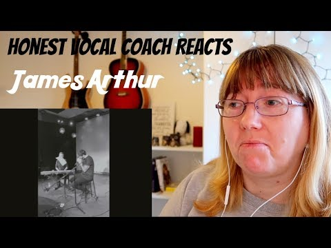 Vocal Coach Reacts to James Arthur 'I'll Never Love Again' A Star is Born - LIVE Cover