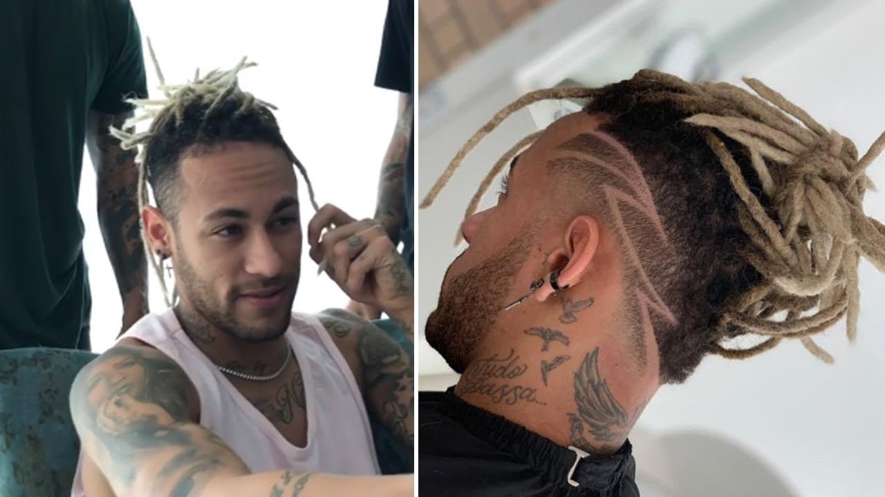 NEYMAR NEW HAIRCUT 12 (dreadlocks style)