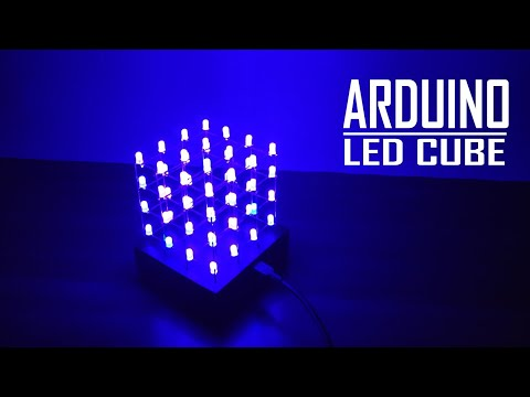 How To Make A DIY Arduino LED Cube