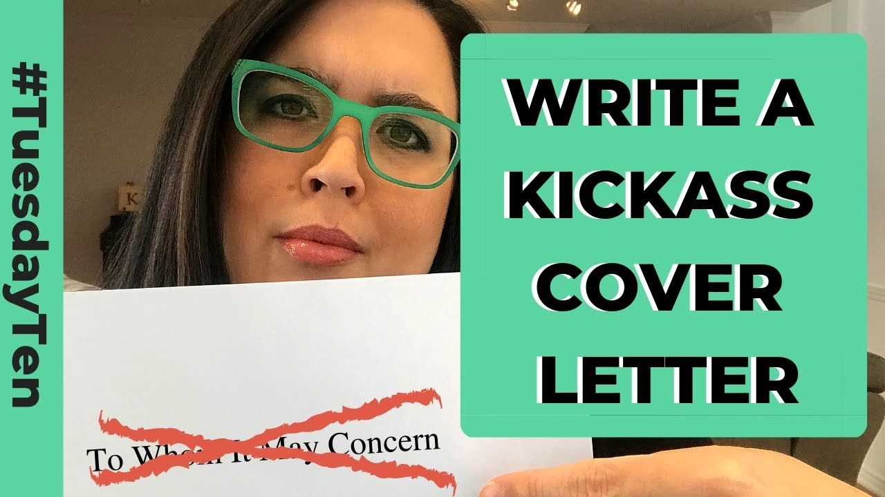 How To Write A Kickass Cover Letter