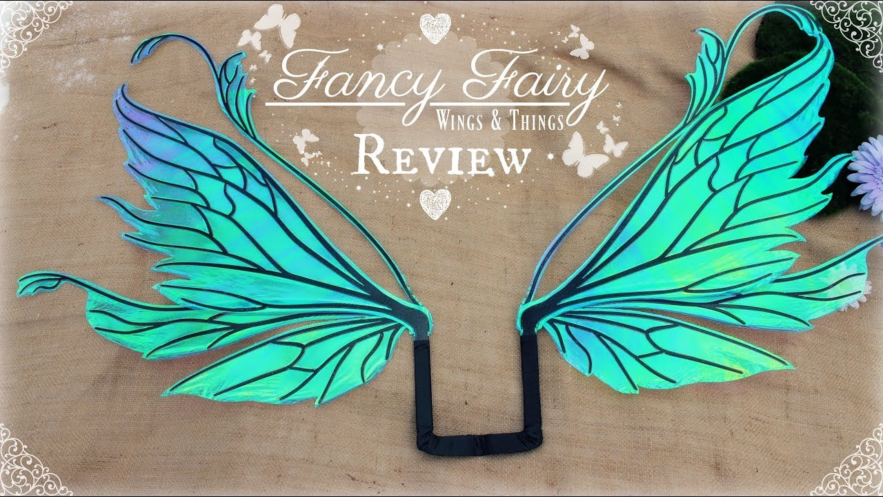 fancy fairy wings and things review  u0026 unboxing