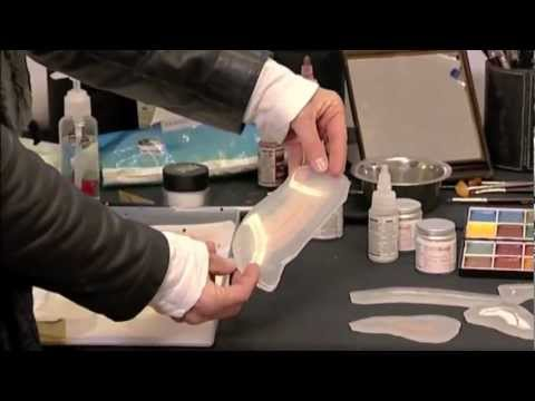 PAM Tutorials - Filling A Silicone Mould With Cap Plastic And Silicone