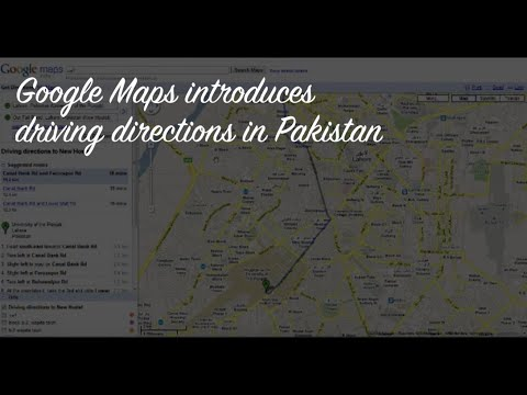 Google Maps Driving Directions for Pakistan   YouTube Google Maps Driving Directions for Pakistan