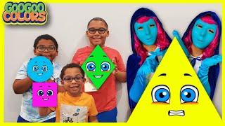 Toy Outsider The Movie! Goo Goo Gaga Family Hide & Seek Game