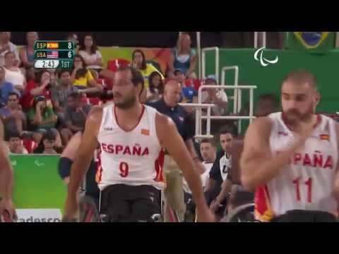 Wheelchair Basketball | Spain v U.S.A | Men