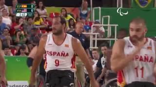 Wheelchair Basketball | Spain v U.S.A | Men's Gold medal match | Rio 2016 Paralympic Games