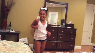 My cousin dancing