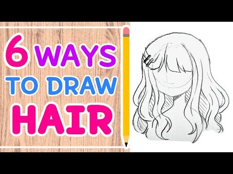☆ HOW TO DRAW 6 HAIRSTYLES || Easy Tutorial! ☆ thumbnail