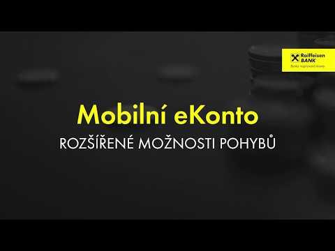 Mobilní bankovnictví - Rozšířené možnosti pohybů