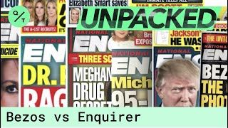 Inside Jeff Bezos's Conflict with the National Enquirer thumbnail