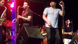 GRUPO MANIA & ALFRED COTTO EN ACCION LAJAS JULIO 2012