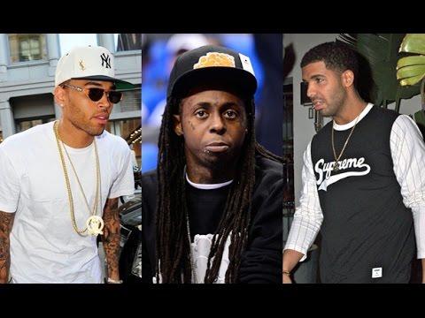 Chris Brown Calls Drake 'Fake' while Thanking Lil Wayne for bringing him out at Lil Weezyana Fest.