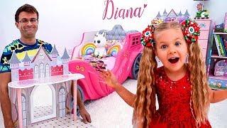 Diana y su Nueva Habitación de Princesa