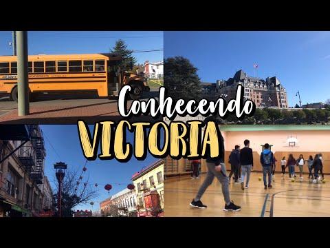 CONHECENDO VICTORIA COM A ESCOLA  INTERCÂMBIO - CANADÁ