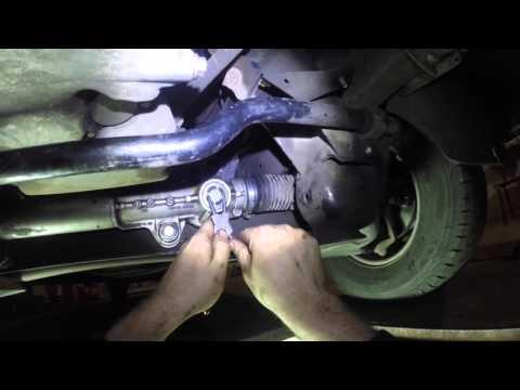 Как подтянуть рулевую рейку Mersedes Sprinter