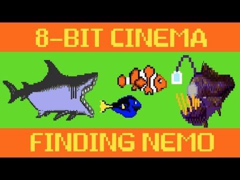 Pixar's Finding Nemo recreated as an 8-bit game