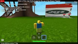 my first video showing roblox server