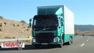 Prueba Camión Volvo FE 350 6X2