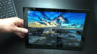 Lenovo ThinkPad X1 Tablet unboxing and first impressions