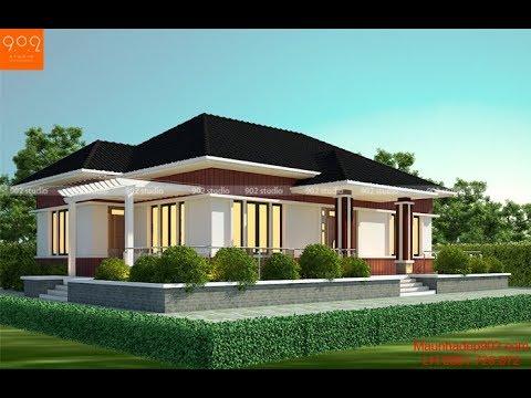 Thiết kế nhà vườn 1 tầng 3 phòng ngủ đang rất được nhiều người yêu thích và quan tâm