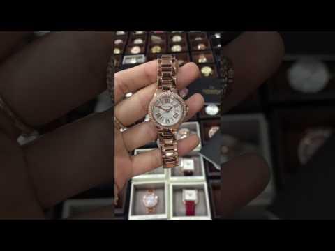 bfc18cd2b391 Michael Kors Women s Petite Camille Rose Gold-Tone Bracelet Watch MK3253