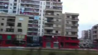 From Durrës to Tiranë - ドゥラスからティラナへ