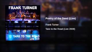 Poetry of the Deed (Live)
