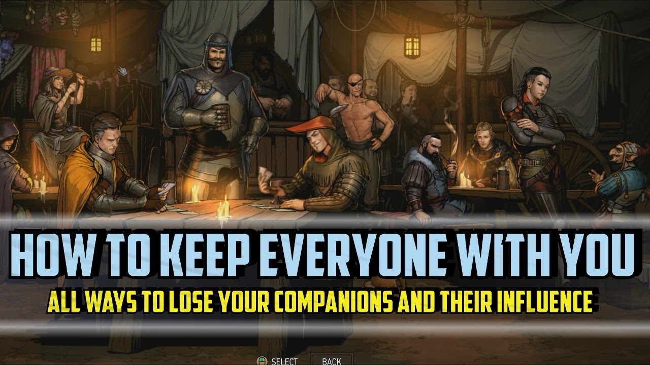 How To Keep All Companions With You - All Ways To Lose Them And Their Influence - Thronebreaker
