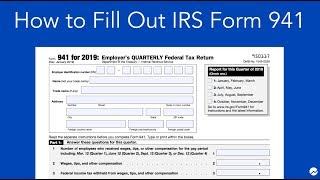How to Fill out IRS Form 941: Simple Step-by-Step Instructions