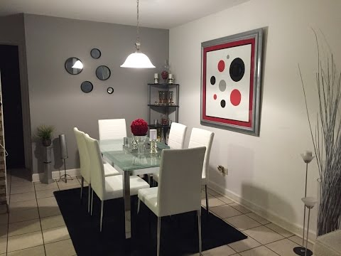 Apartment Small Dining Room Tour Series