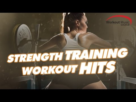 Workout Music Source  Strength Training Workout Hits 124 BPM