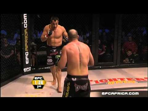Wessels vs Potts Fight EFC AFRICA 09