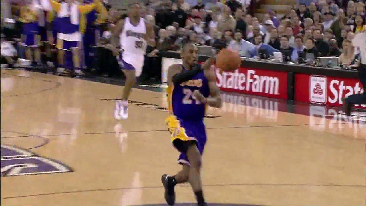 detailed pictures f3945 312e9 Kobe Bryant 360 dunk vs Kings(07-08)