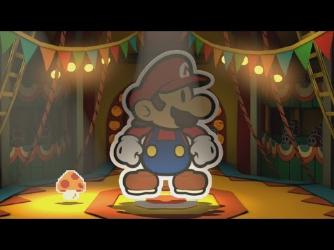 The Emerald Circus (Big Paint Star) - Paper Mario: Color Splash Walkthrough