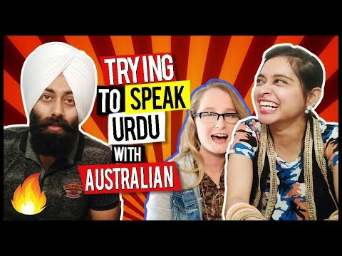 Trying to Speak Urdu with Australian Girl | PunjabiReel TV