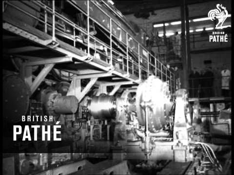 Workers On Wheels >> Locomotive Testing Station (1948) - YouTube