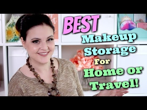 Makeup Storage SOLUTIONS! Best Cases for Home or Travel! OMG! | Jen Luvs Reviews