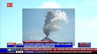 PVMBG: Gunung Anak Krakatau Kembali Erupsi