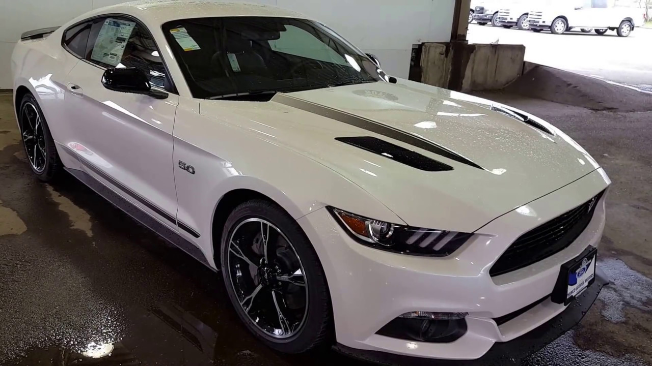 White 2017 ford mustang gt premium fastback review prince george bc prince george motors