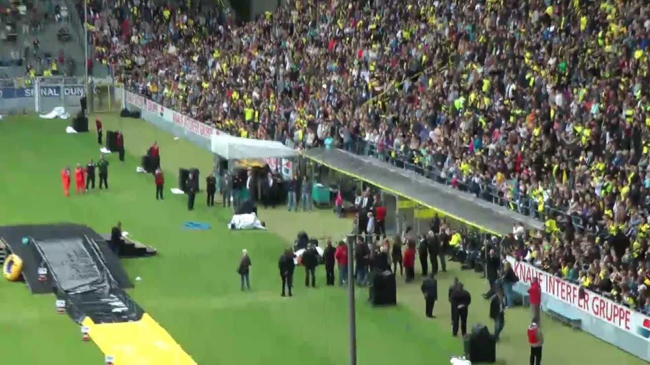 BVB Saisoneröffnung  2011 / 2012  -  Borussia Dortmund - Westfalenstadion Familientag