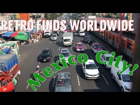 Ep. 21 - Retro Game Hunting in Mexico City, Mexico!