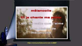 Karaoké - Jeanne - Laurent Voulzy