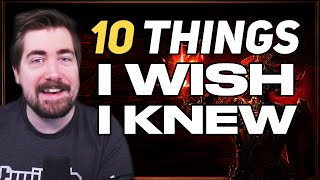 10 Things I wİsh I knew when I started Path of Exile