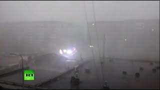 Ураган дошёл до Урала  стихия ударила по Свердловской области