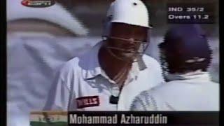 Mohammad Azharuddin CLASSIC ELEGANT 101 vs Pak   Sahara Cup   Toronto, 1998   *SUPER RARE*