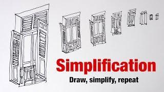Simplify, Draw, Repeat (tutorial)