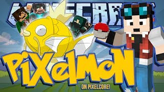 THE GOLDEN MAGIKARP! | Minecraft: Pixelmon Mod w/ DanTDM & Friends! [#1]