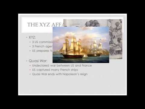APUSH Review, The Alien and Sedition Acts