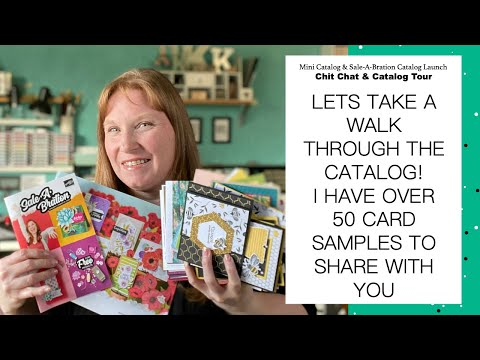 2020 Mini Catalog Walk Through + Over 50 New Card Designs