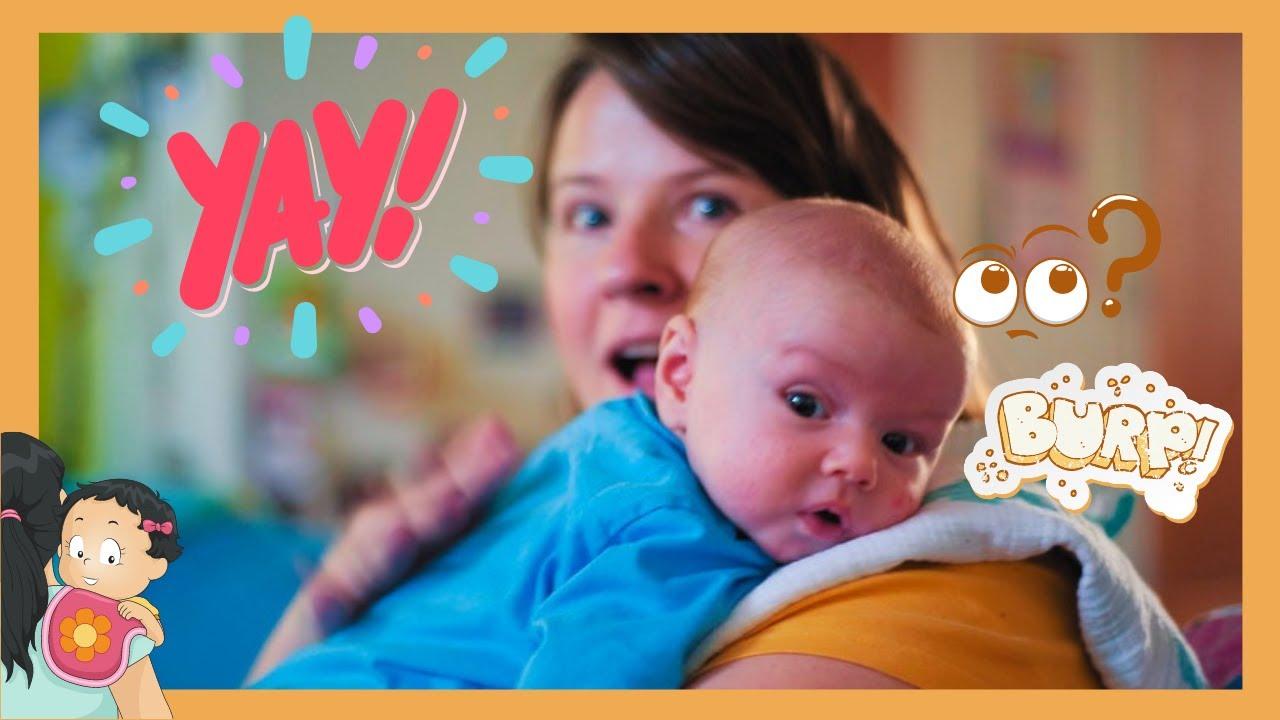 Muss ein Baby immer ein Bäuerchen machen? - YouTube